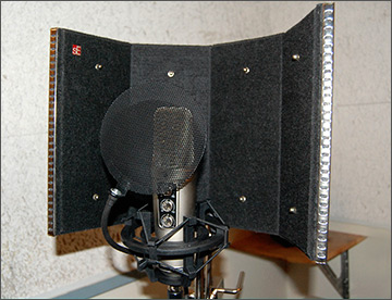 voiceover room mic