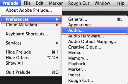 prelude - preferences